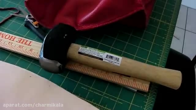 woman leather bag tutorial